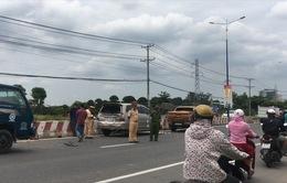 Xe tải gây tai nạn liên hoàn trên quốc lộ 13, nhiều người thoát chết