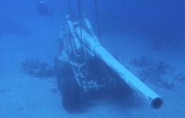 Jordan nhận chìm xe tăng, trực thăng để mở bảo tàng dưới biển