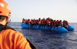 Lật thuyền chở người di cư ở Libya, ít nhất 116 người mất tích