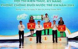 Bế mạc Hội thi kiến thức, kỹ năng phòng chống đuối nước tại tỉnh Quảng Ninh