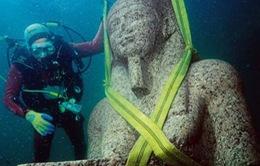 Phát hiện đền cổ nằm dưới biển sâu ở Ai Cập