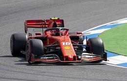 Đua xe F1: Đội Ferrari đạt thành tích tốt nhất tại buổi chạy thử GP Đức