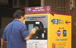 Đổi chai nhựa lấy vé giao thông công cộng