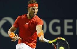 Djokovic và Federer rút lui, Nadal rộng cửa bảo vệ ngôi vương ở Rogers Cup