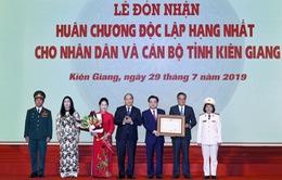 Tỉnh Kiên Giang đón nhận Huân chương Độc lập
