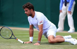 Wimbledon 2019: Wawrinka gục ngã trước đối thủ cao 2m11