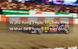 Chuỗi siêu thị Vinmart+ bán vé xem giải F1 Việt Nam