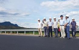 Khắc phục xong hằn lún trên cao tốc Đà Nẵng - Quảng Ngãi