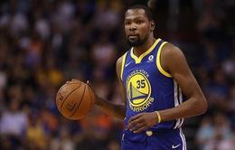 Golden State Warriors tri ân Kevin Durant