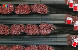 Xuất khẩu thép tiếp tục tăng trưởng