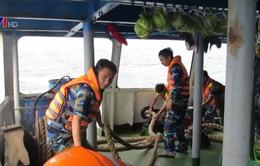 Thời tiết xấu cản trở việc tìm kiếm thuyền viên mất tích