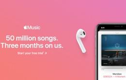 Apple Music rút ngắn thời gian dùng thử xuống còn 1 tháng?