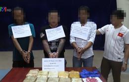 Bắt vụ vận chuyển 62.000 viên ma túy tổng hợp