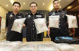 Malaysia báo động tình trạng cảnh sát nghiện ma túy