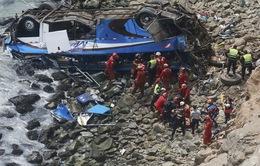 Tai nạn đường bộ thảm khốc tại Peru