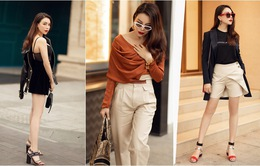 Ngắm thời trang xuống phố cực chất của Trà Ngọc Hằng
