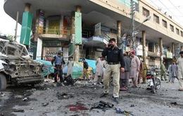 Nổ gần đồn cảnh sát tại Quetta, Pakistan, 32 người thương vong