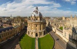 Vượt mặt Cambridge, Oxford lên ngôi đầu bảng đại học tốt nhất Anh quốc