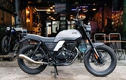 Cận cảnh mô tô cổ điển Brixton Glanville 250