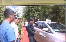 Đắk Nông: Bắt đối tượng dàn cảnh chắn đường taxi