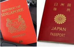 Hộ chiếu quyền lực nhất thế giới thuộc về Nhật Bản và Singapore