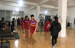 Đội tuyển U19 nữ Quốc gia tập trung chuẩn bị tham dự giải đấu giao hữu tại Hàn Quốc