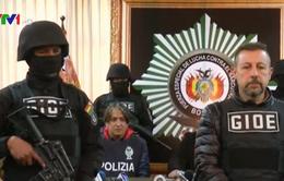 Bắt trùm ma túy khét tiếng người Italy tại Bolivia