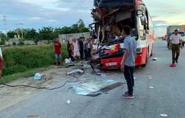 Tai nạn xe khách tại Nghệ An, 1 người thiệt mạng