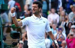 Vòng 3 Wimbledon 2019: Novak Djokovic 3-1 Hubert Hurkacz (7/5, 6/7, 6/1, 6/4)