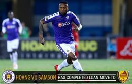 Hoàng Vũ Samson bất ngờ rời CLB Hà Nội
