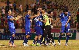 CLB Quảng Nam 3-1 CLB Sài Gòn: Thanh Trung lập cú đúp bàn thắng, Quảng Nam giành trọn 3 điểm!