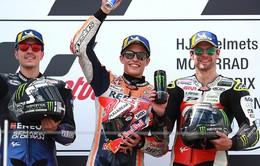 MotoGP: Marc Marquez giành chiến thắng thuyết phục tại Sachsenring