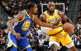 LeBron James và Kevin Durant sẽ đổi số áo thi đấu cho mùa giải NBA năm tới