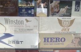 Khó xử lý các trường hợp bày bán thuốc lá tràn lan