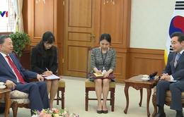 Bộ trưởng Bộ Công an Tô Lâm thăm và làm việc tại Hàn Quốc