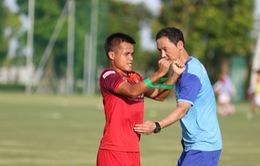 Lần đầu ra mắt thầy Park, các cầu thủ U23 Việt Nam tập luyện hăng say