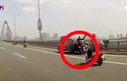 Gặp tai nạn vì thiếu quan sát khi đi đường