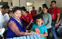 Hỗ trợ chi phí phẫu thuật cho 5 bệnh nhi tim bẩm sinh tỉnh Cà Mau