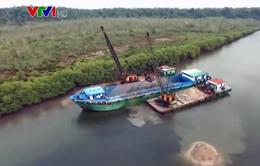 Malaysia cấm xuất khẩu cát biển có tác động tới Singapore?