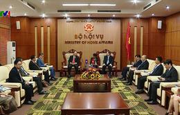 Việt Nam - Lào trao đổi kinh nghiệm quản lý nhà nước