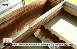 Báo động tình trạng nước sinh hoạt nhiễm amoni tại Hà Nội