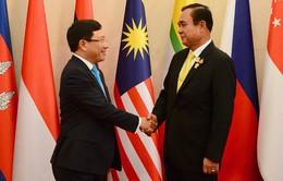 Vấn đề Biển Đông bao trùm các Hội nghị Bộ trưởng ASEAN với những đối tác