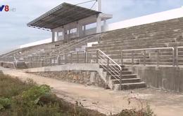Trung tâm văn hóa hàng chục tỷ đồng chưa xây dựng xong đã xuống cấp