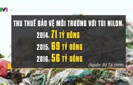 Khó khăn áp thuế bảo vệ môi trường với túi nylon