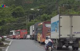 Khắc phục sạt lở, ùn tắc giao thông tại đèo Bảo Lộc