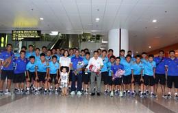 ĐT U15 Việt Nam về nước, bổ sung lực lượng chuẩn bị cho Vòng loại U16 châu Á 2020