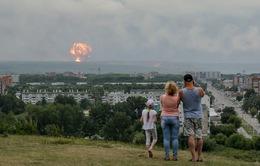 Nga: Lại cháy nổ kho đạn ở Siberia