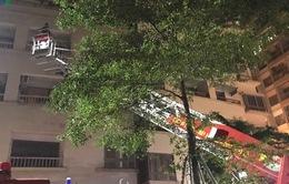 Bà nội trèo ban công sang phòng cháu, rơi từ tầng 16 xuống tử vong