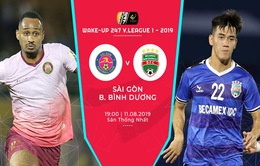 CLB Sài Gòn 0-1 B.Bình Dương: Trọng Huy lập công, đội khách giành trọn 3 điểm!