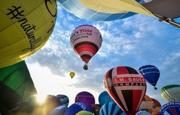 Lễ hội khinh khí cầu lớn nhất châu Âu